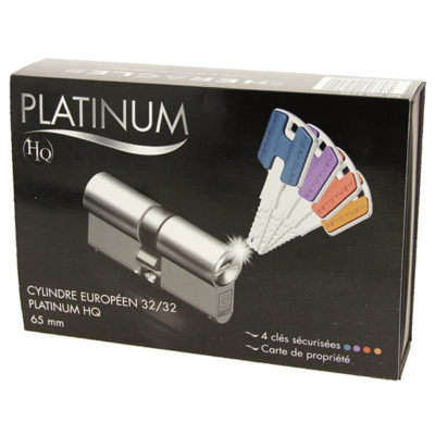 Coffret cylindre européens PLATINIUM-HQ HERACLES