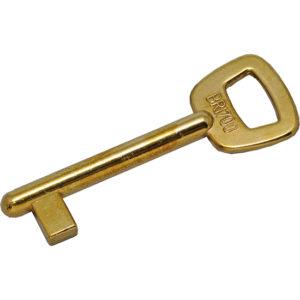 Ébauche de clé type Bricard à gorges