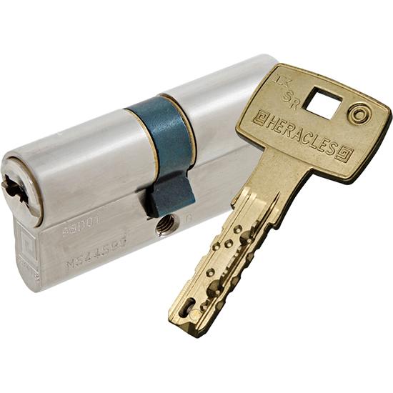 Cylindre + clé Serrure multipoints à mortaiser 3 points TF3000 HERACLES